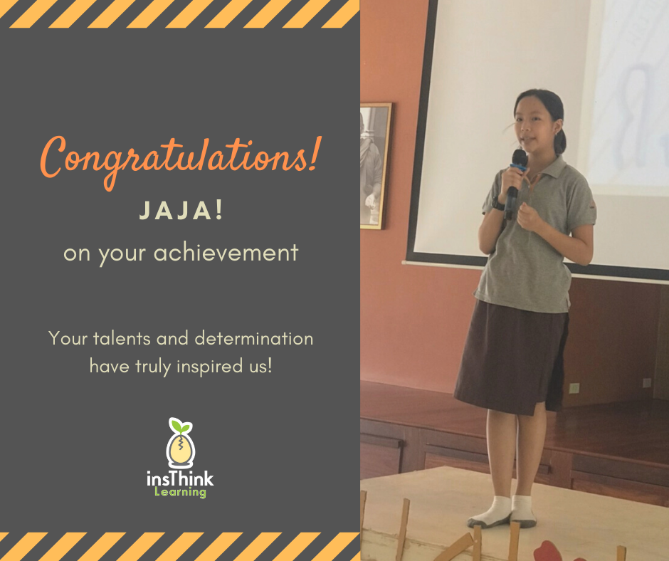 Young Speakers Success Story Jaja's speech